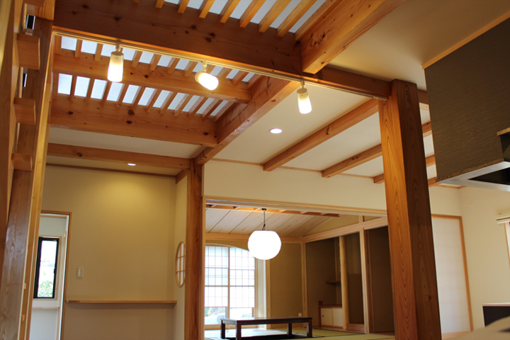 横内建築設計事務所 施工例1